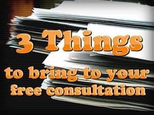3 Things to Bring to Your Consultation