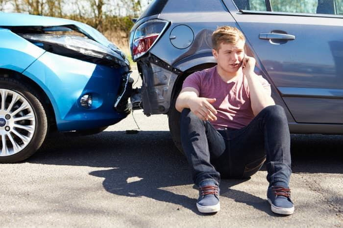 Teen is in a Car Accident