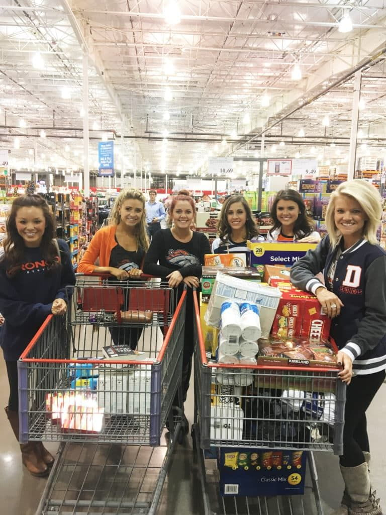 DBC Shopping for Cheer For The Troops