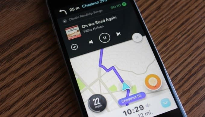 spotify waze and distracted driving