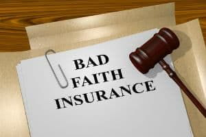 What are bad-faith insurance claims?