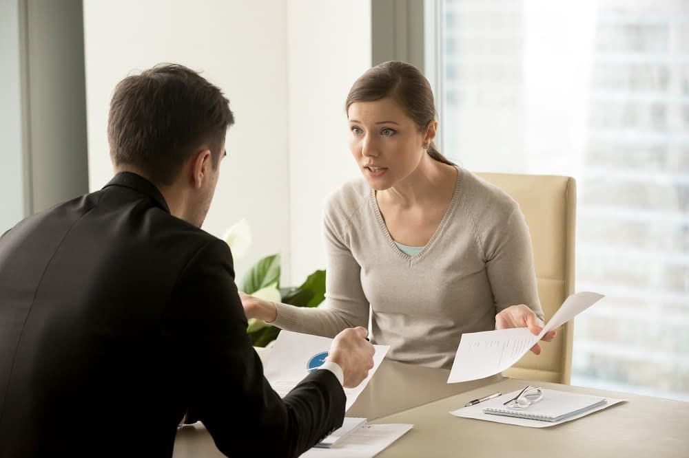 Client complaining to her lawyer regarding the litigation process.