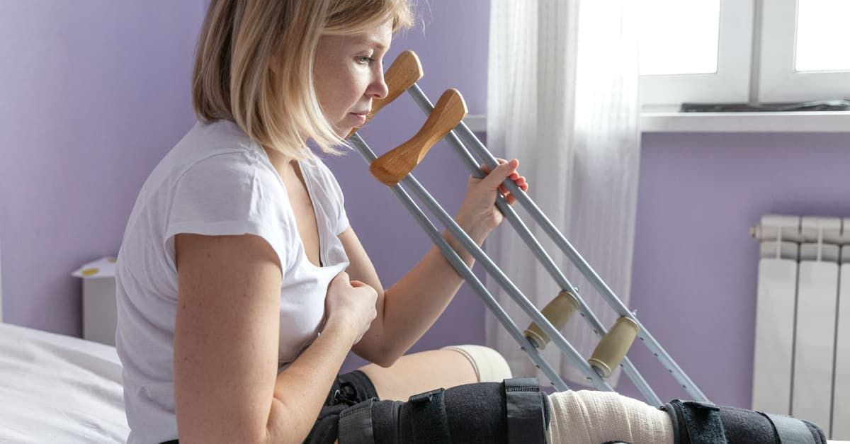 Injured worker filing for workers compensation benefits claim.