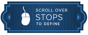 scroll over stops to define