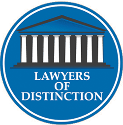 Lawyers of distinction badge