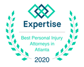 Expertise 2020 Atlanta personal injury lawyer badge