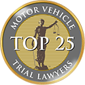 Spaulding Injury Law is a Top 25 Motor Vehicle Trial Lawyer