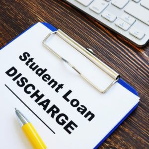 student loan discharge form