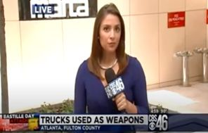 Darren Tobin Featured On CBS 46 Discussing The Use Of Trucks For Terrorism