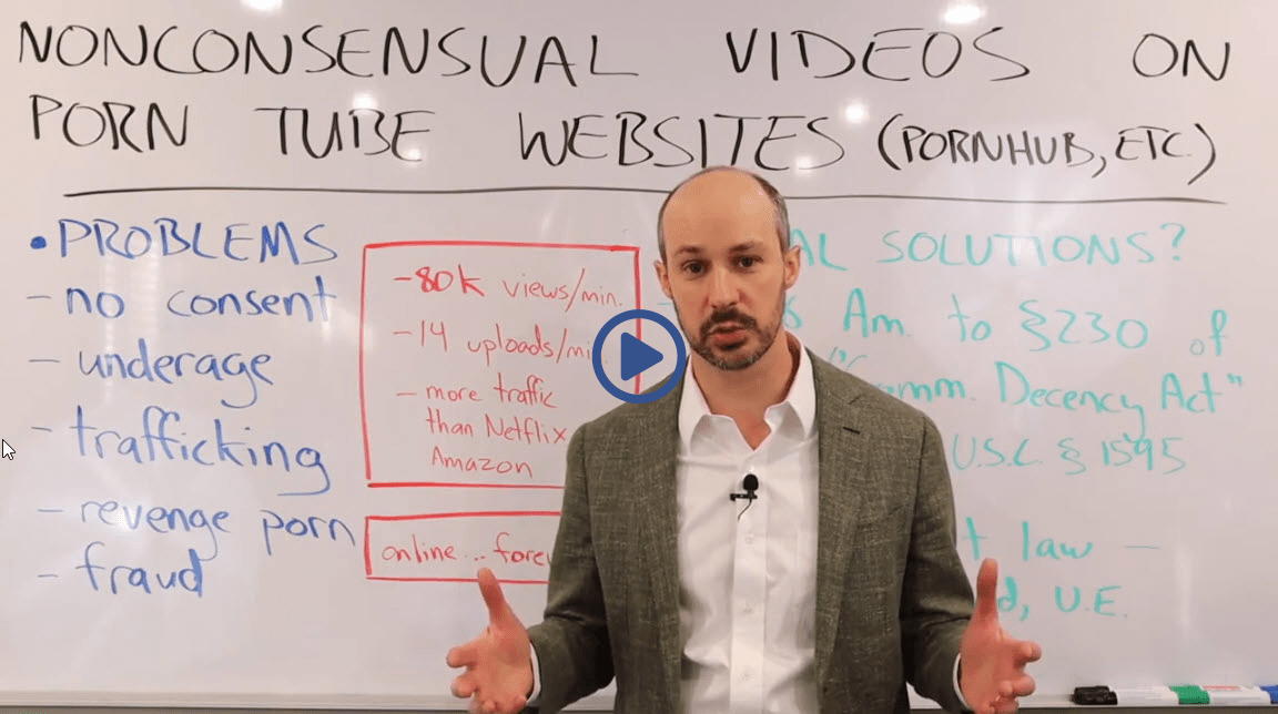 Lawyer Explains Nonconsensual Videos on Porn Tube Websites