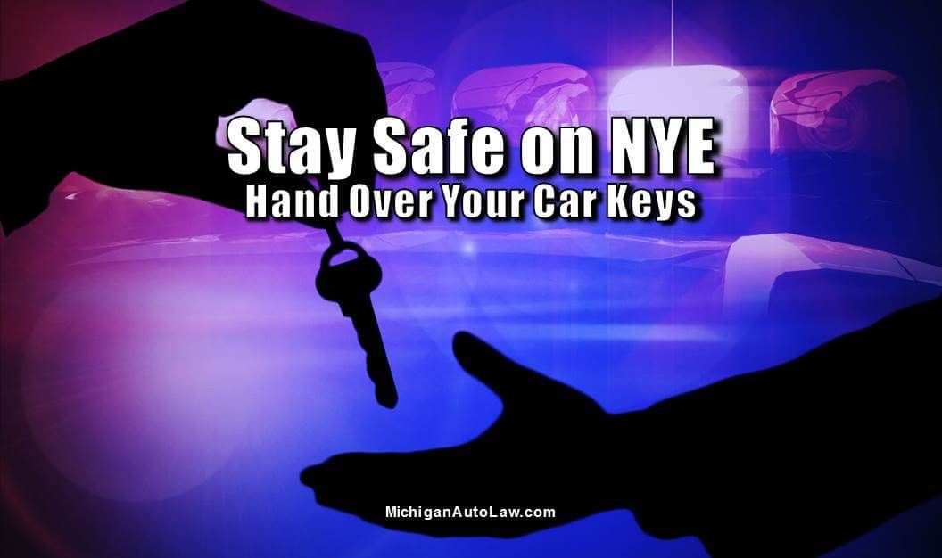 New Year's Eve - Hand Keys Over to Designated Driver