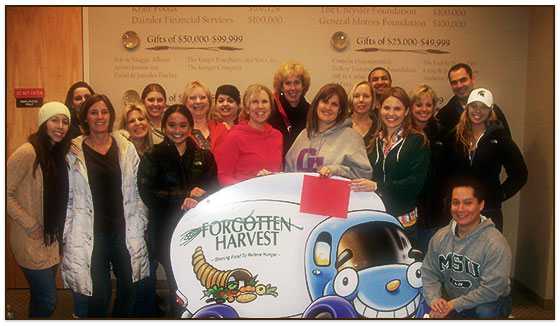 Michigan Auto Law Volunteering at Forgotten Harvest