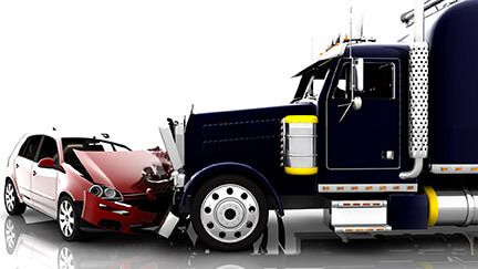 after a truck accident, image