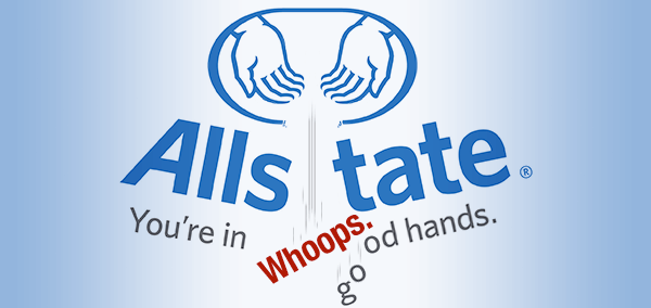 Allstate, not in good hands, image