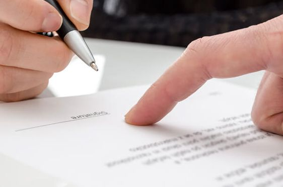 auto accident settlement in writing, image