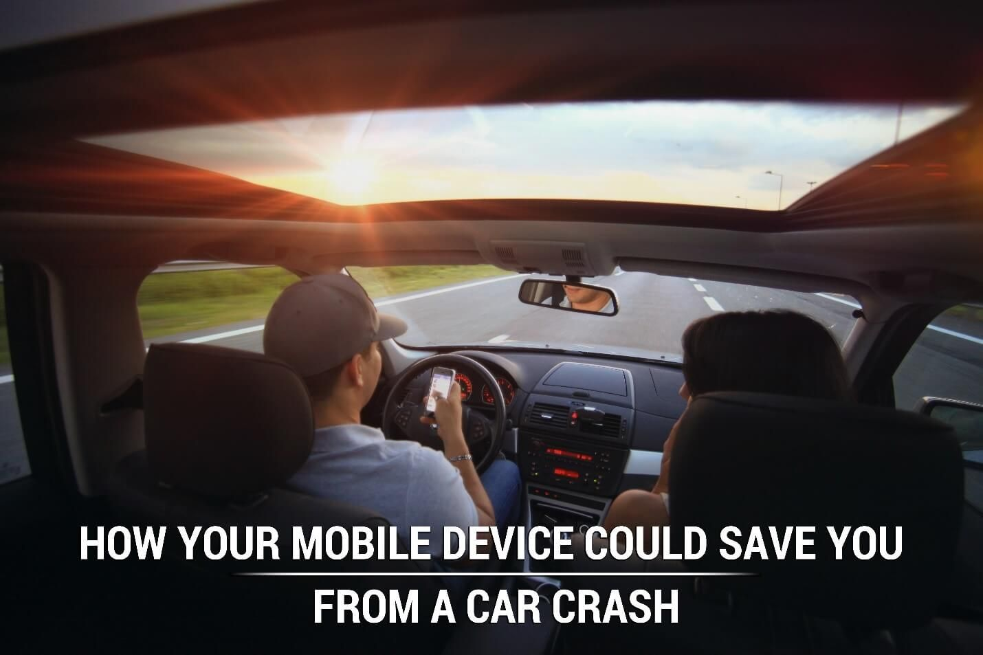 How Your Mobile Device Could Save You from a Car Crash