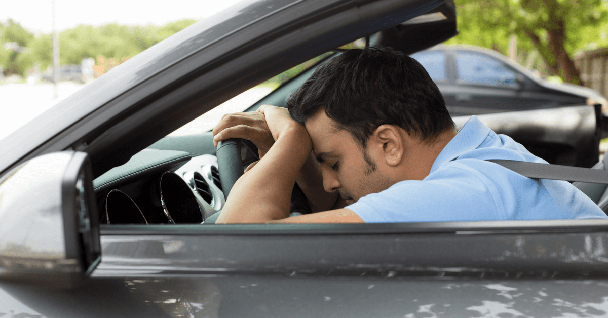 Car Crash Risk Increased by Lack of Sleep