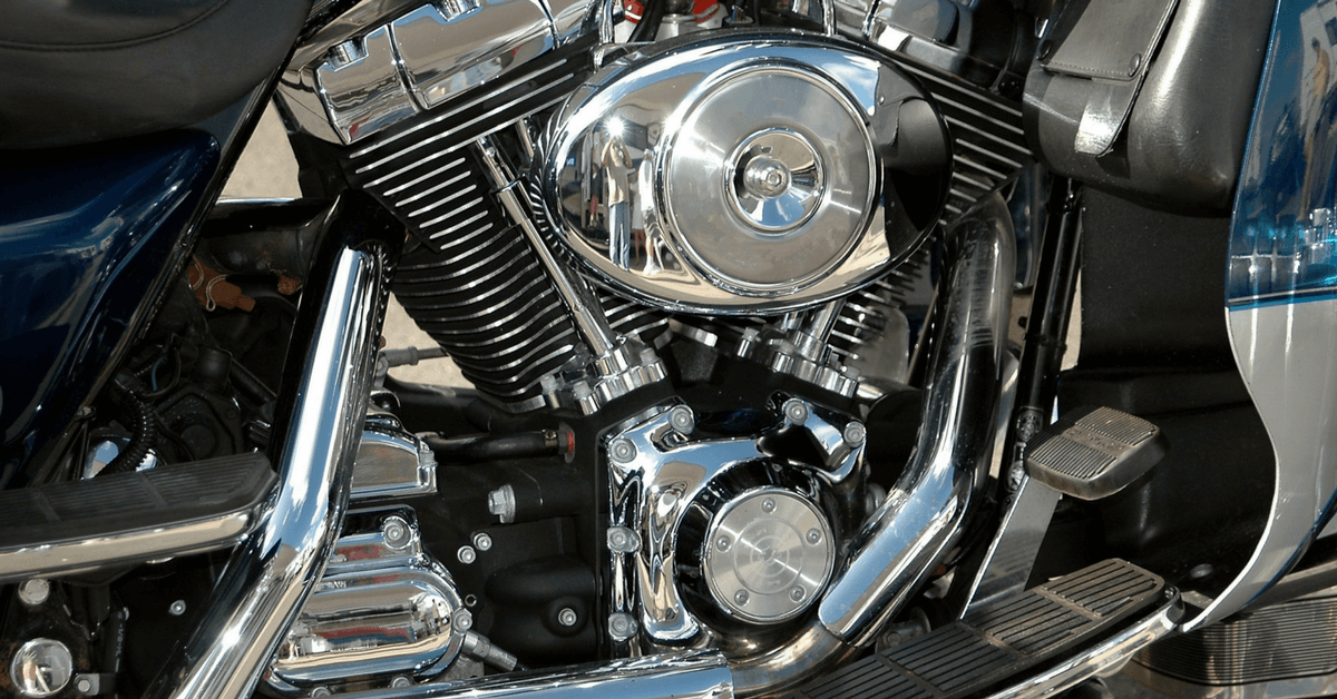 What happens when an uninsured driver hits a motorcycle