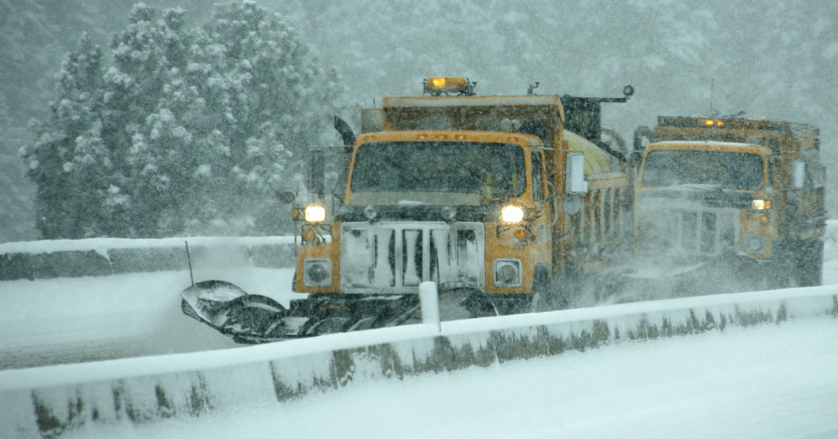 How green lights on the backs of snow plows can prevent rear-end crashes