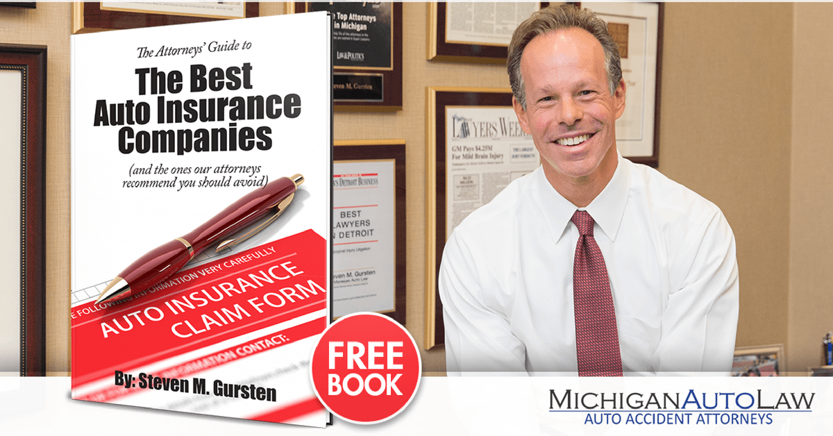 """Michigan Auto Law publishes its """"Attorneys' Guide to the Best Auto Insurance Companies"""""""