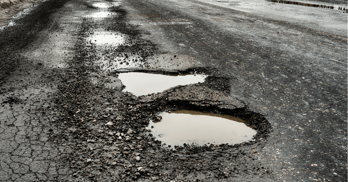 House bills propose to help drivers who file a pothole damage claim: Prevent insurance rate hikes, increase recovery from MDOT.