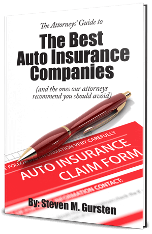 The Best Auto Insurance Companies Ebook Cover