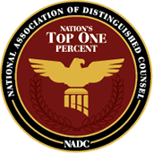 Nation's Top 1% - National Association of Distinguished Counsel