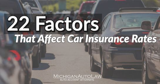 22 Factors That Affect Car Insurance Rates Nationally