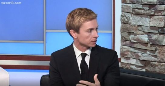Michigan Auto Law Attorney Brandon Hewitt Talks Distracted Driving With WZZM
