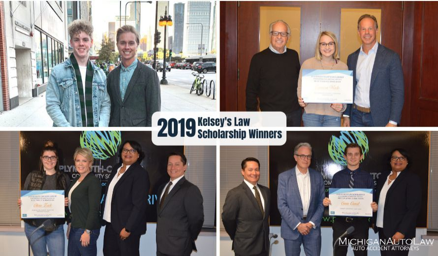 Kelsey's Law Distracted Driving Awareness Scholarship 2019 Winners