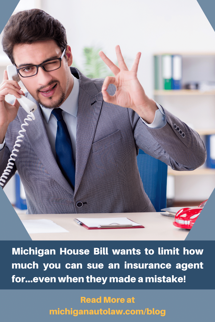 Insurance agent liability and the new Michigan auto insurance law