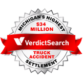 Highest Truck Accident Settlement by any Michigan Lawyer from Verdict Search