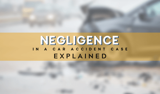 What Is Negligence In A Car Accident Case In Michigan?