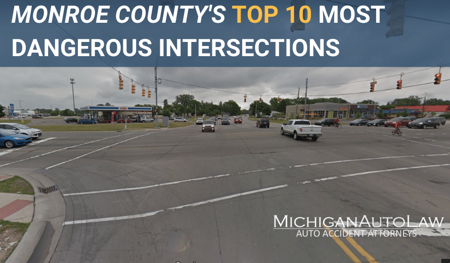 Monroe County's Most Dangerous Intersections 2020 - Featured Image