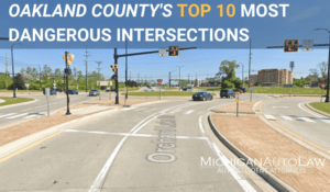 Oakland County's Most Dangerous Intersections 2020 - Featured Image