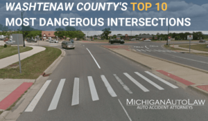 Washtenaw County's Most Dangerous Intersections 2020 - Featured Image