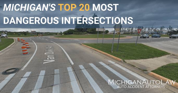 Michigan's Most Dangerous Intersections in 2019