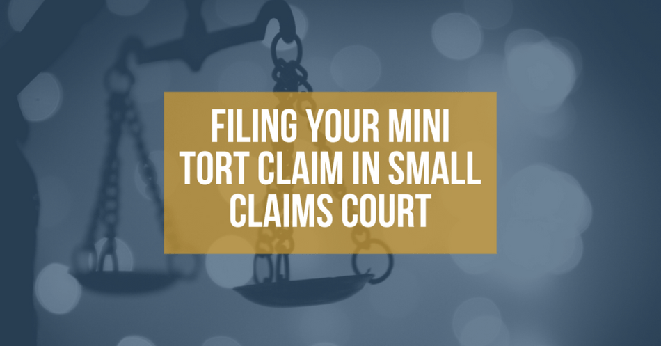 Michigan Mini Tort Auto Law