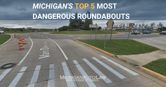 What Michigan Roundabouts Were The Most Dangerous in 2019?