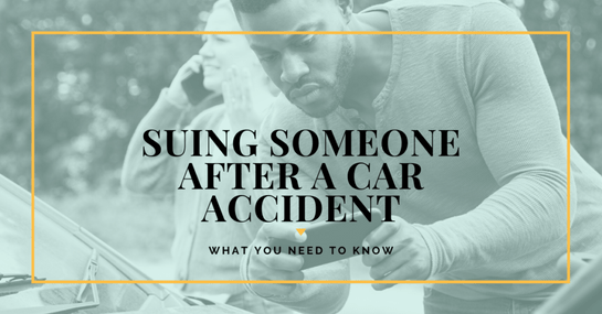 Suing Someone After A Car Accident in Michigan: What You Need To Know
