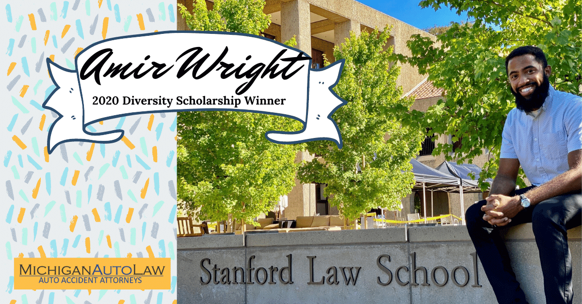 Amir Wright Wins Michigan Auto Law's 2020 Law Student Diversity Scholarship
