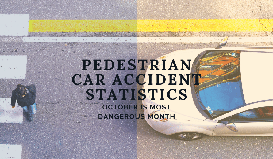 Pedestrian Car Accident Statistics Show October is The Most Dangerous Month