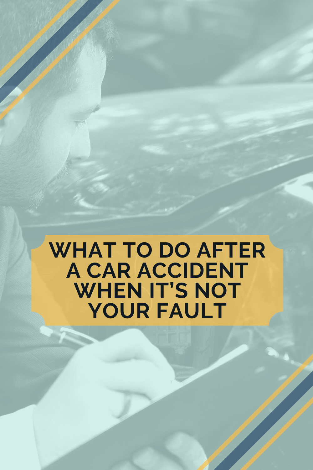 What To Do After A Car Accident That\'s Not Your Fault