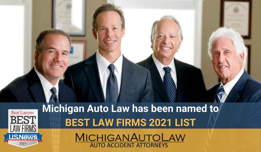 Michigan Auto Law Makes US News Best Law Firms 2021 List