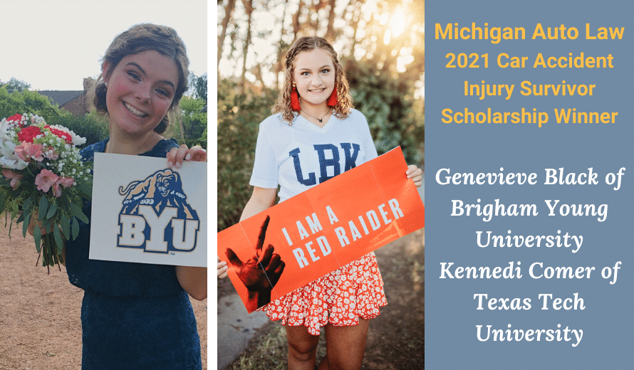 Michigan Auto Law Car Accident Injury Survivor Scholarship
