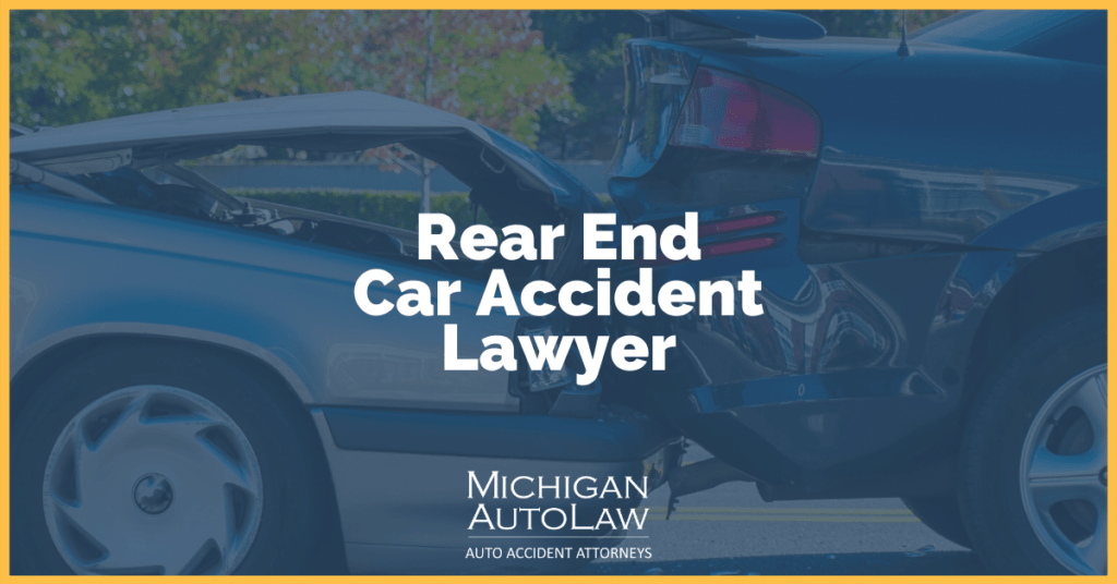Rear End Car Accident Lawyer