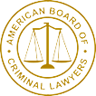american board of criminal lawyers logo