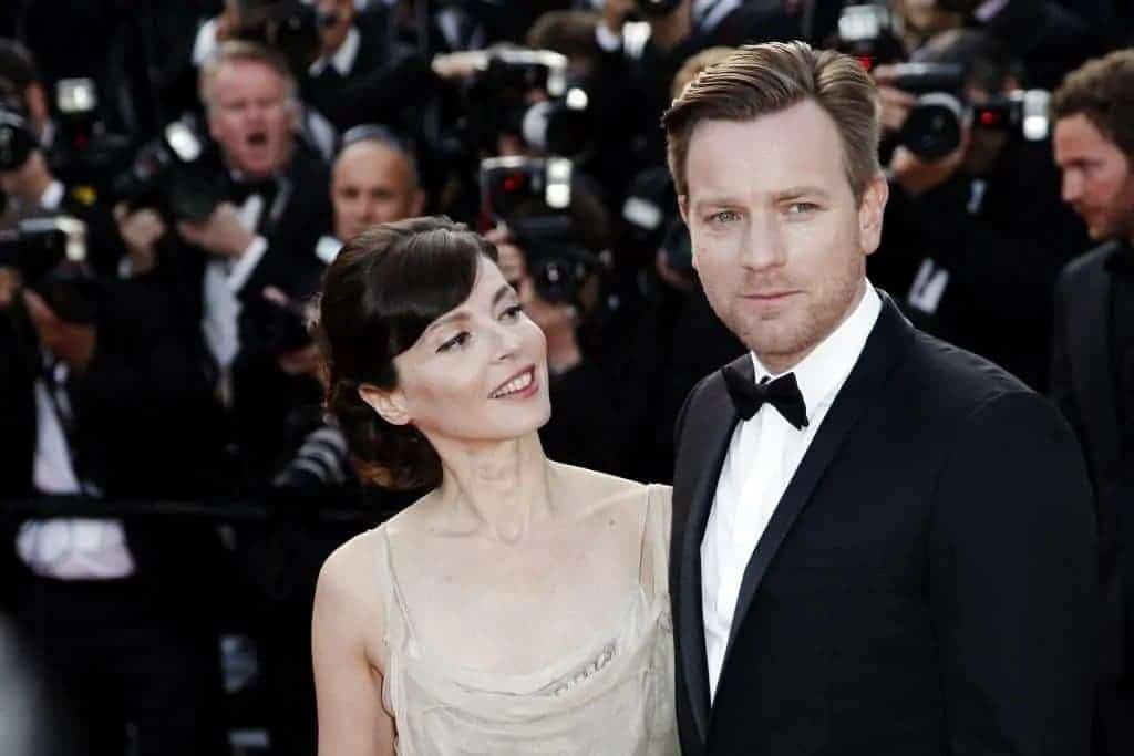 Star Wars actor Ewan McGregor and wife Eva Mavrakis