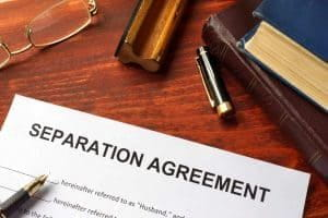 Debt & Asset Division in a Separation Agreement