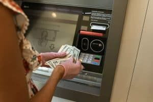 Withdraw funds from joint account.